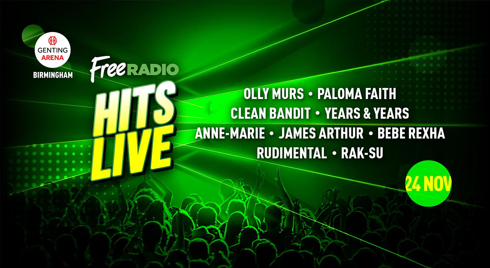 free radio live 2018 line up