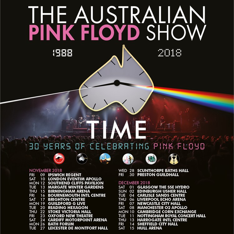 The Australian Pink Floyd Tickets Concert Dates Tour The